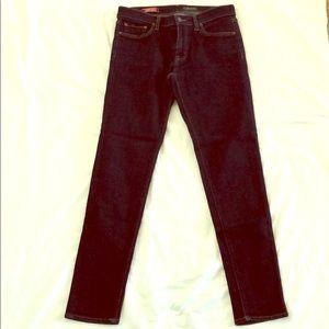 Red Engine Scorcher Skinny Jeans Dark Wash 30